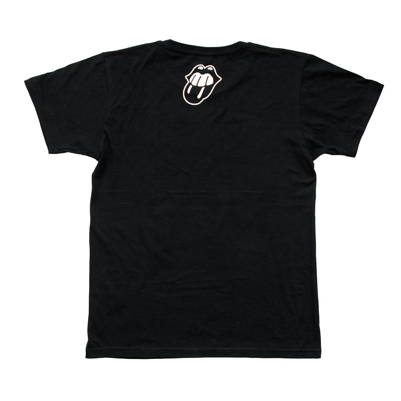BITE YOU LIVE スアレス噛み付き Tシャツ ブラック