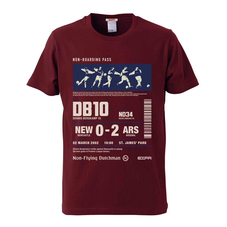 ベルカンプターン Tシャツ 2019 remix