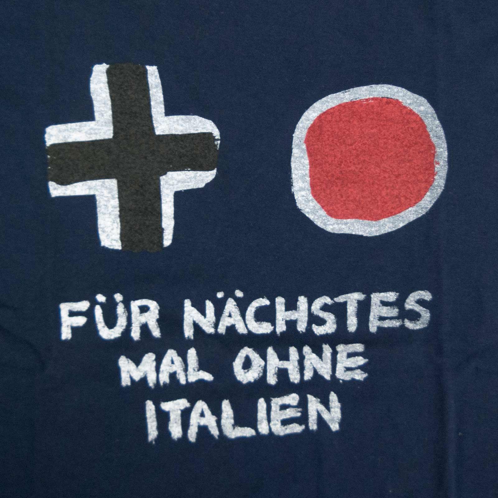 次はイタリア抜きでやろうぜ Tシャツ