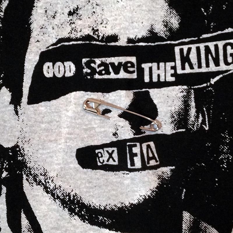 GOD SAVE THE KING カントナ Tシャツ