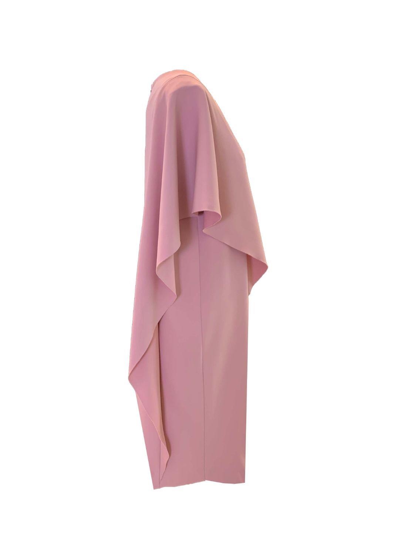 asymmetric  Cocoon dress