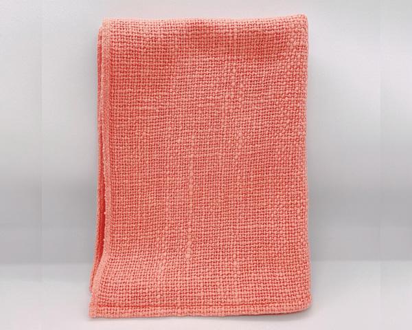 セラピスト施術布ピンク ミニサイズ(フェイスタオルサイズ)