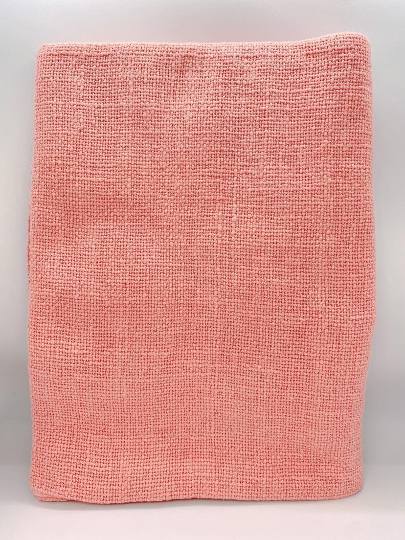 セラピスト施術布ピンク 通常サイズ(140cm×70cm)