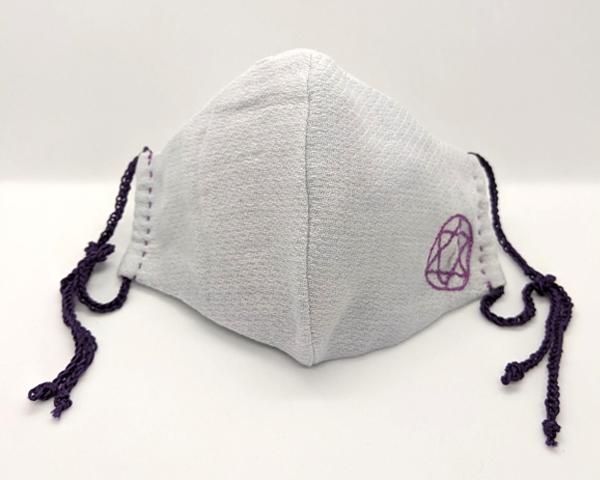 【B品SALE!】晒のムスカリ花染マスク