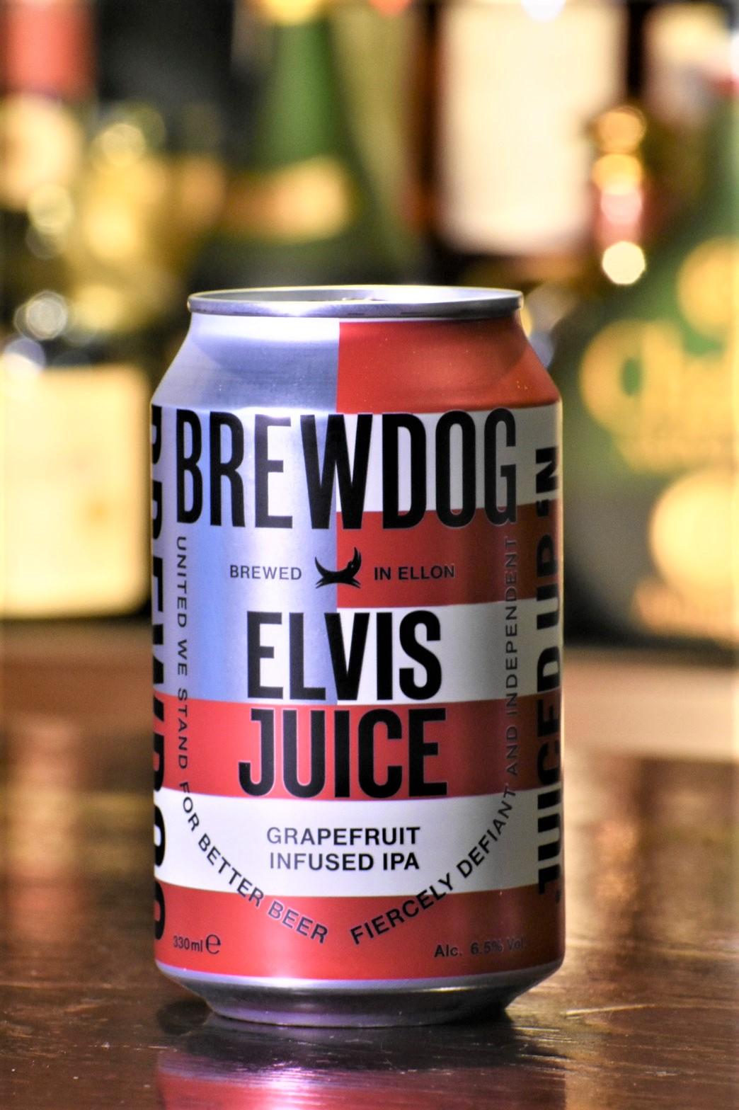 ブリュードッグ エルビスジュース 4缶セット