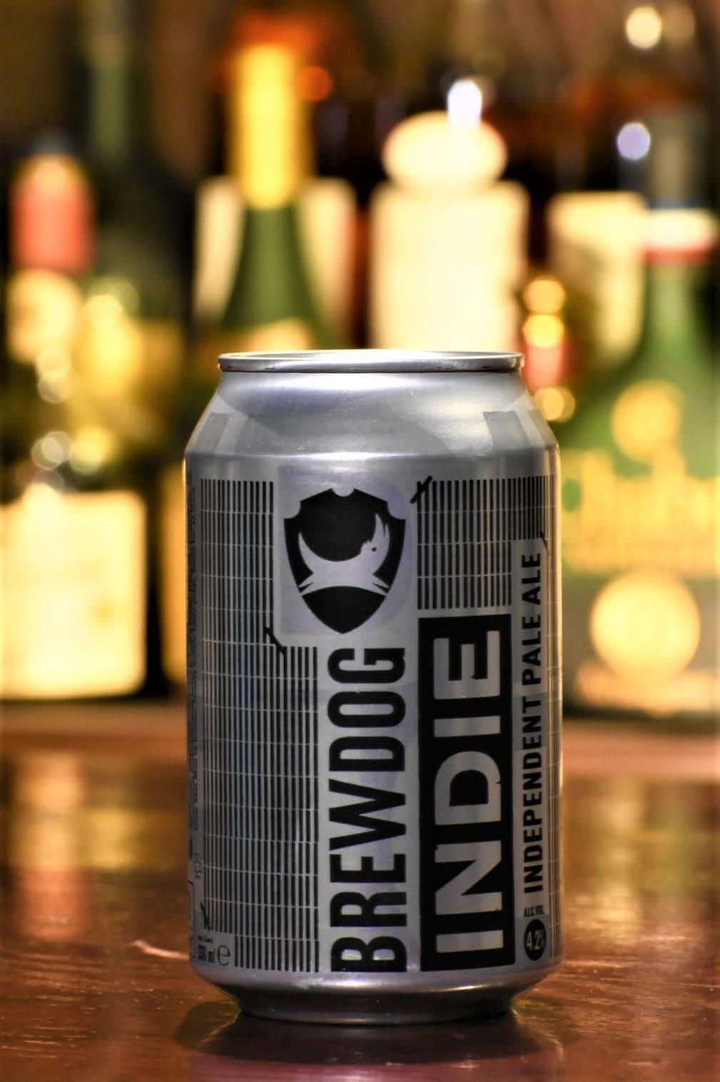 ブリュードッグ インディー 4缶セット