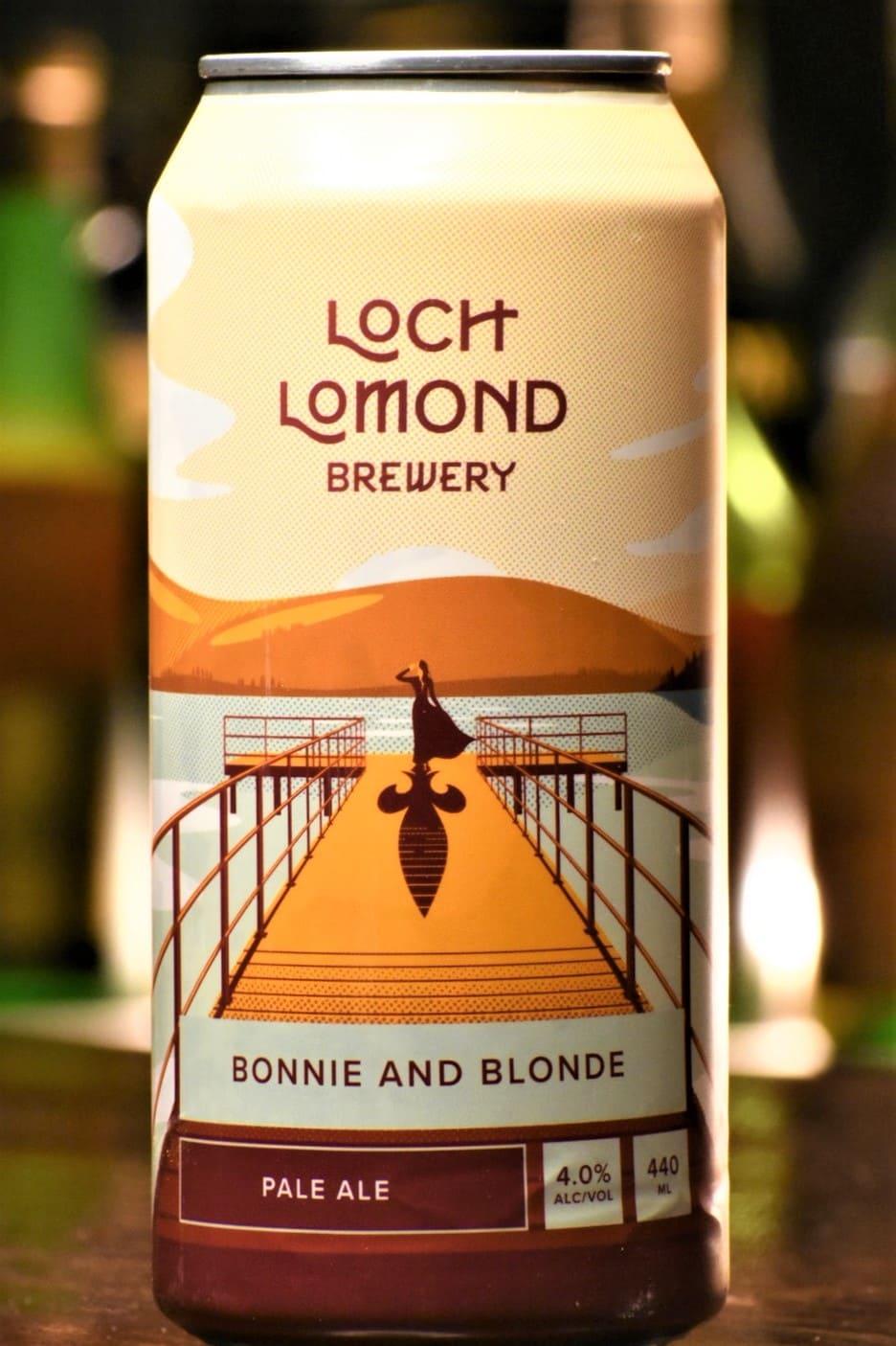 限定 ロッホローモンド ブルワリー ボニー&ブロンド セッションペールエール 4缶セット
