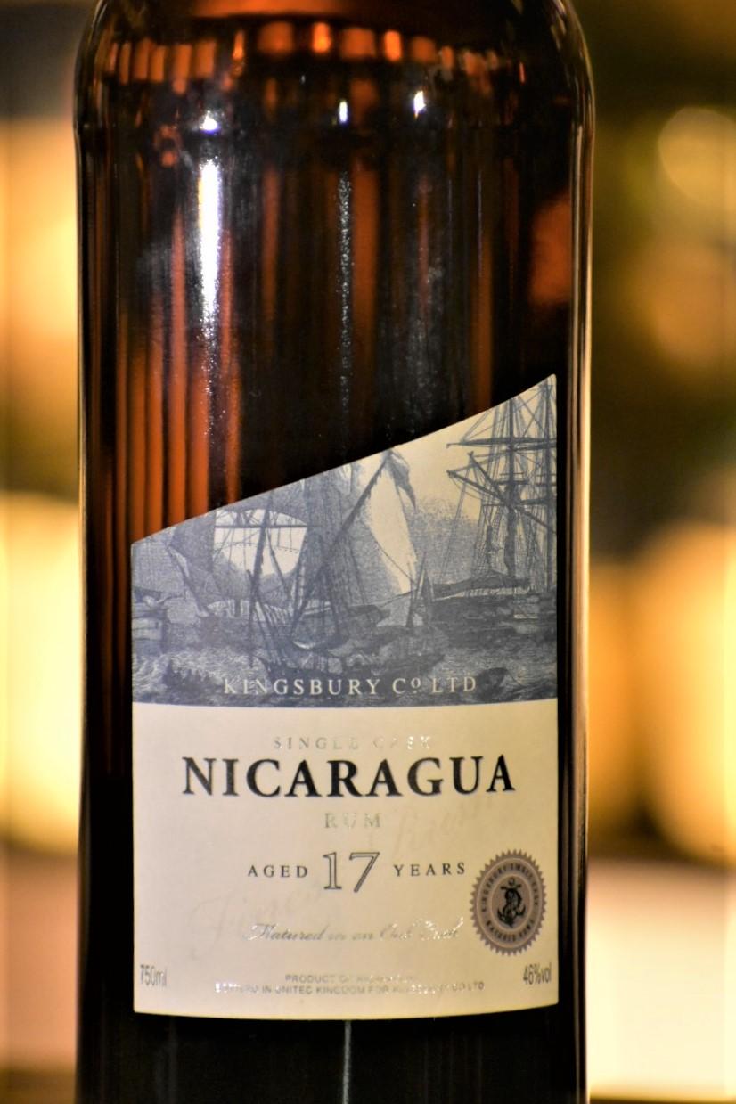 ニカラグア 2000 17年 / キングスバリー ラム