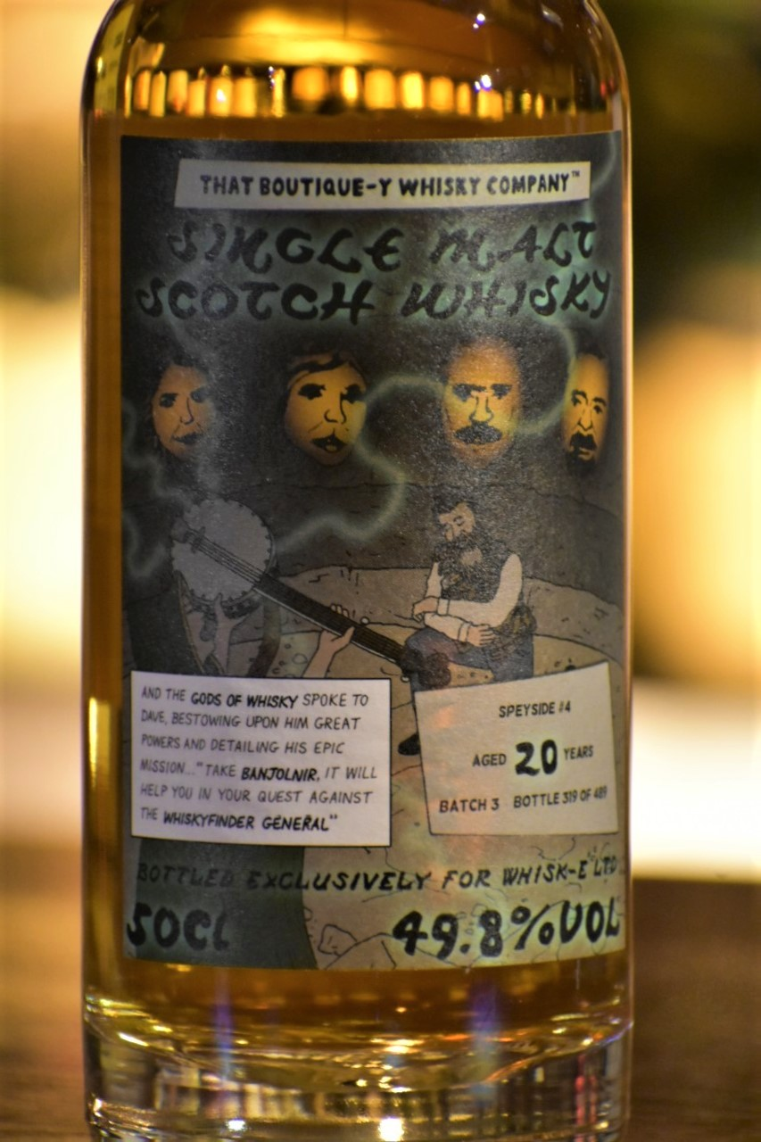 ブティックウイスキー スペイサイド #4 バッチ3 20年