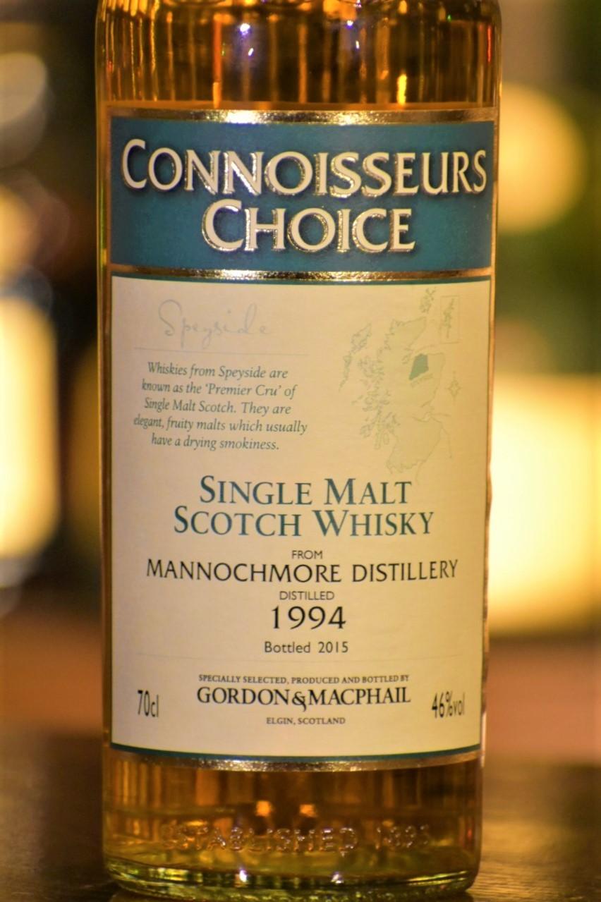 マノックモア 1994  ゴードン&マクファイル コニサーズチョイス