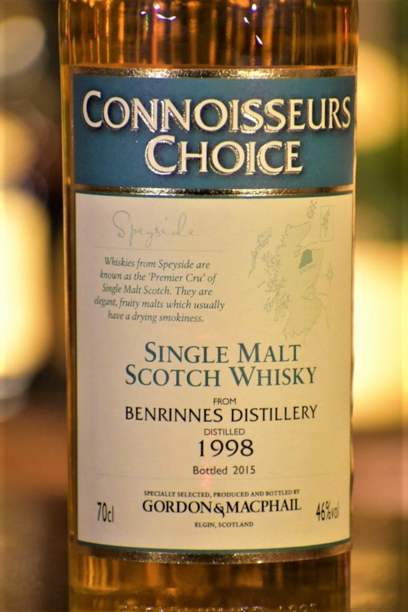 ベンリネス 1998  ゴードン&マクファイル コニサーズチョイス