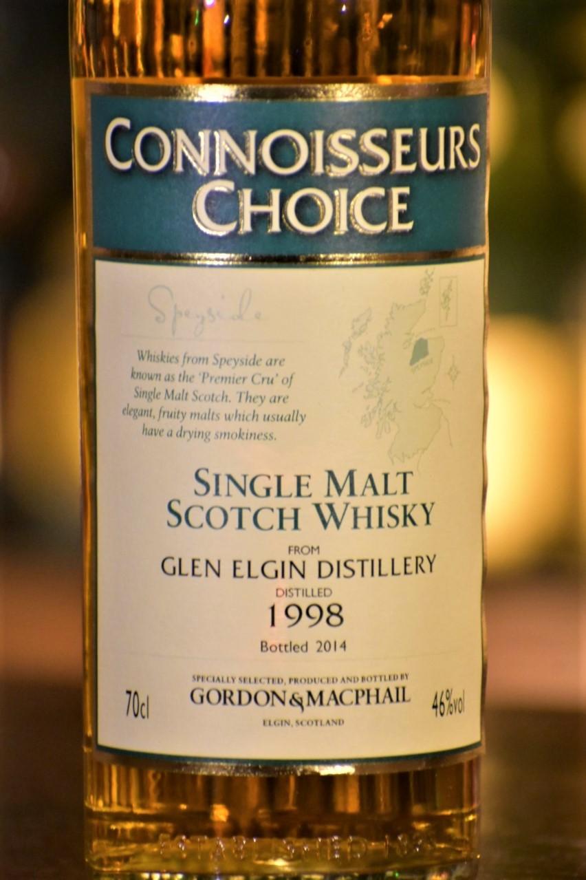 グレンエルギン 1998  ゴードン&マクファイル コニサーズチョイス