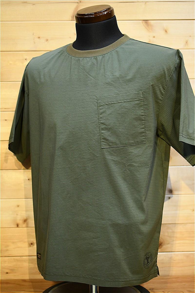 コリンボ Tシャツ COLIMBO ZW-0412 EXCELSIOR DRY TEE オリーブ