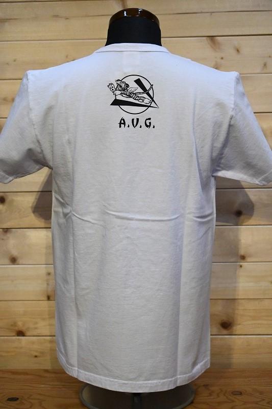 バズリクソンズ Tシャツ BR78776 BUZZ RICKSON'S 2ND PURSUIT ホワイト