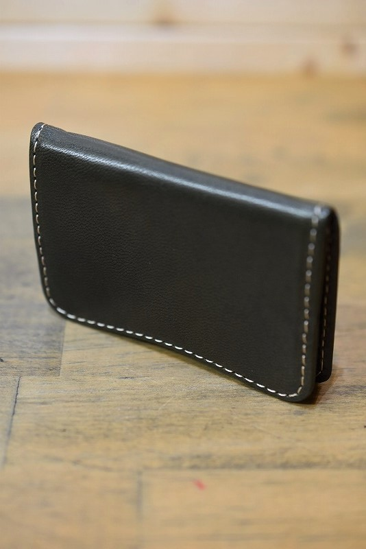 Y'2 LEATHER YW-03 HORSE HIDE COIN PURSE OLIVE