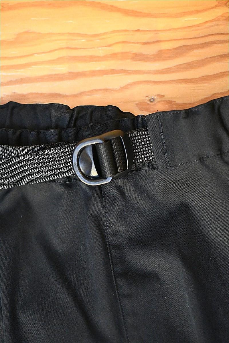 コンフィー パンツ COMFY CMF2102-P03C STEP BACK PANTS ブラック