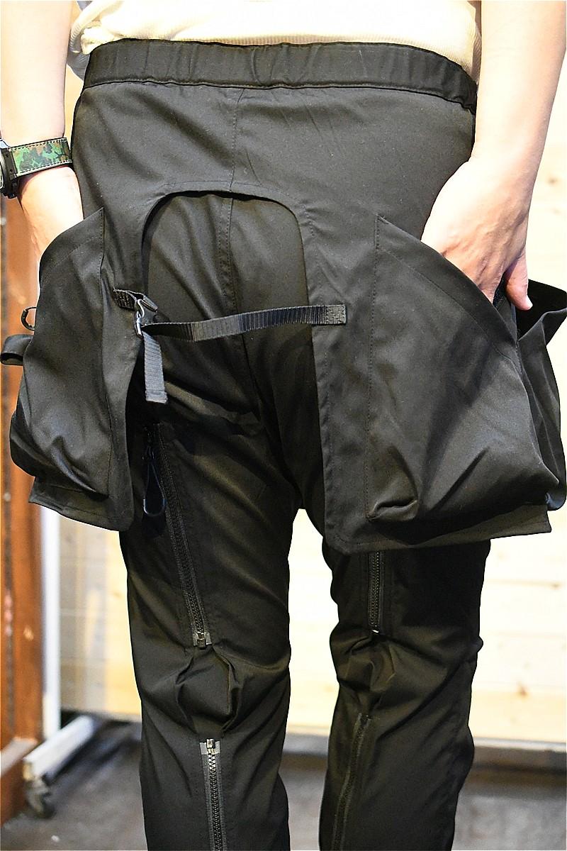 コンフィー パンツ COMFY CMF2102-P02C KILTIC BONDAGE PANTS ブラック