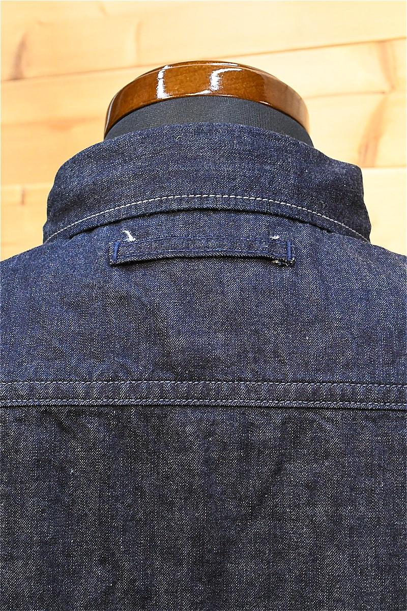 ウエス 長袖シャツ UES 500TSトラベリングシャツ デニム