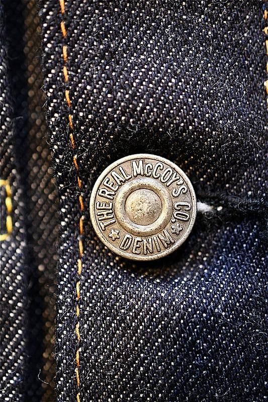 リアルマッコイズ デニムジャケット REAL McCOYS MJ21126 01XXJ EARLY MODEL BLANKET LINING