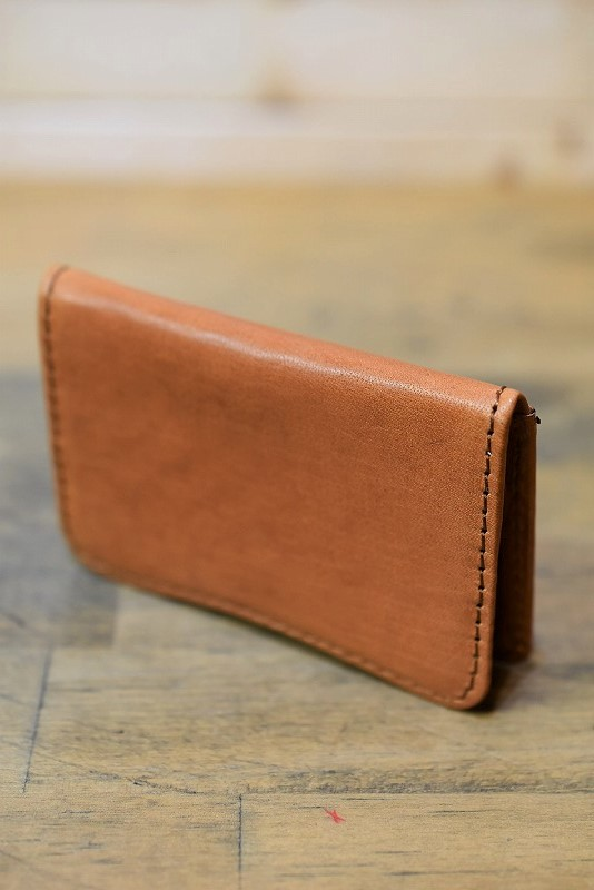 Y'2 LEATHER YW-03 HORSE HIDE COIN PURSE CAMEL コインケース