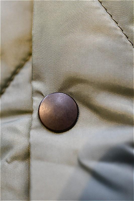リアルマッコイズ キルティングジャケット REAL McCOYS MJ21116 UNDERWEAR, QUILTED, CWU 9/P セージグリーン