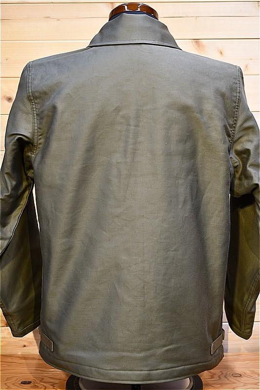 リアルマッコイズ デッキジャケット REAL McCOYS MJ2113 U.S.N. A-2 DECK JACKET REAL McCOY MFG. オリーブ