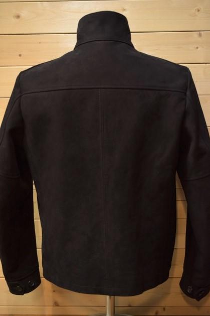 ワイツーレザー Y'2 LEATHER NB-148 HORSE NUBACK DRIZZLER JKT ブラック ジャケット
