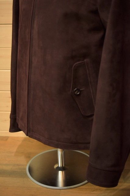 ワイツーレザー Y'2 LEATHER NB-148 HORSE NUBACK DRIZZLER JKT ワイン ジャケット