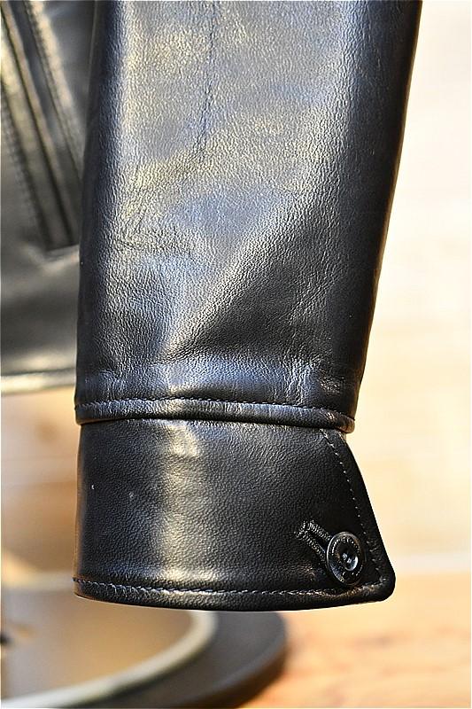 ワイツーレザー レザージャケット Y'2 LEATHER HVR-42 HV HORSE SINGLE RIDERS ブラック