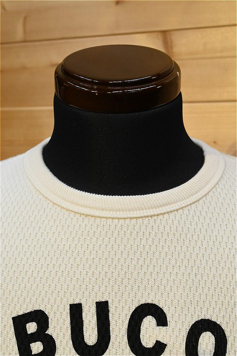 リアルマッコイズ 長袖Tシャツ REAL McCOYS BC21103 BUCO THERMAL / RIDING TOGS ホワイト