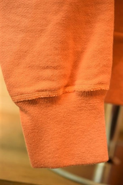 バズリクソンズ BUZZ RICKSON'S BR65622 セットインクルースウェット SET-IN CREW SWEAT オレンジ