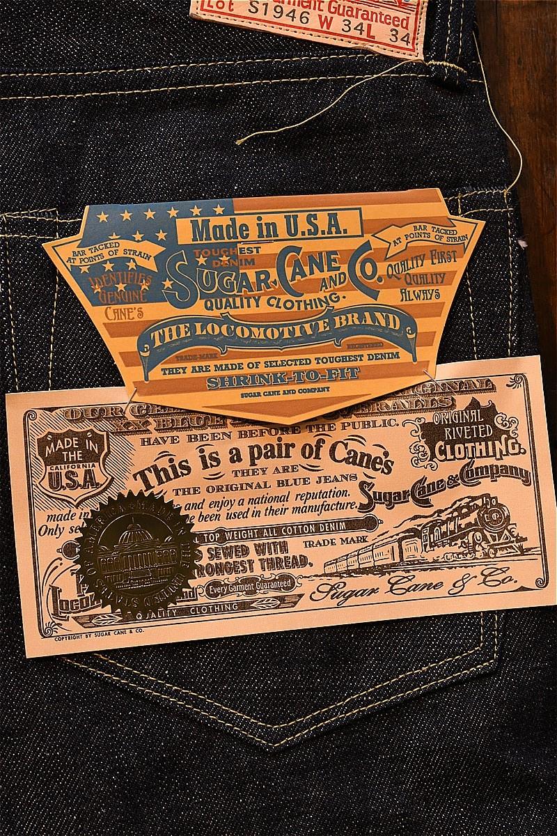 シュガーケーン デニム Sugar Cane SC41946 us USA 13oz WW2DENIM1946 ネイビー