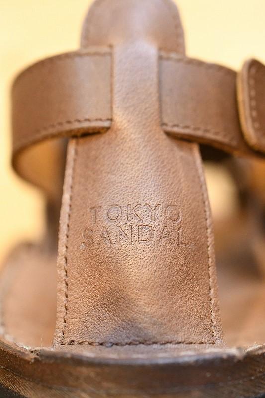 東京サンダル TOKYO SANDALS TS-C12 MIZUHIKI SANDAL ブラウン