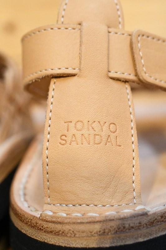 東京サンダル TOKYO SANDALS TS-C12 MIZUHIKI SANDAL タン