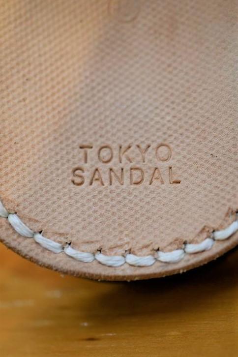 東京サンダル サムリングサンダル TOKYO SANDALS TS-C14 THUMB RING SANDAL タン