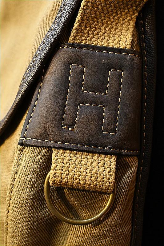 コリンボ バッグ COLIMBO HSN-023 HINSON WEATHER BEATER LIGHT WEIGHT CREEL SHOULDER カーキ