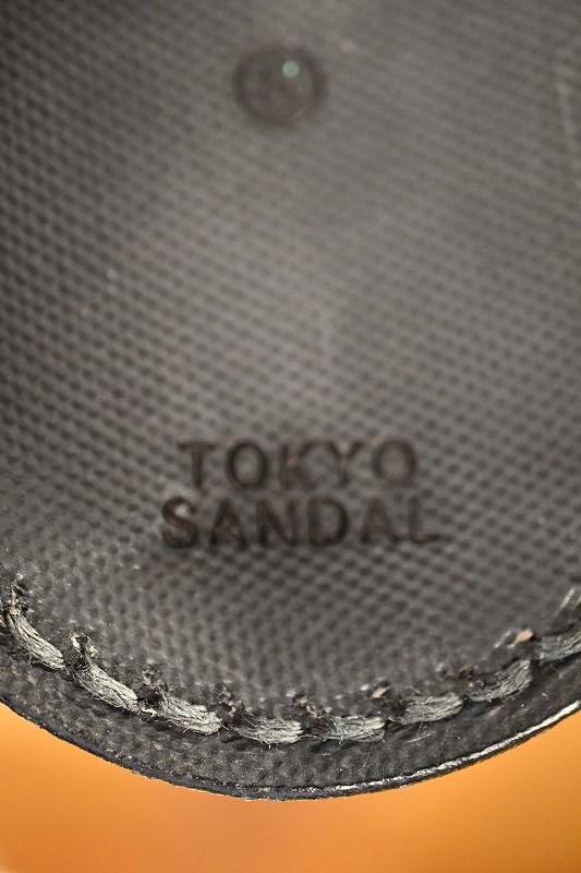 東京サンダル サムリングサンダル TOKYO SANDALS TS-C14 THUMB RING SANDAL ブラック