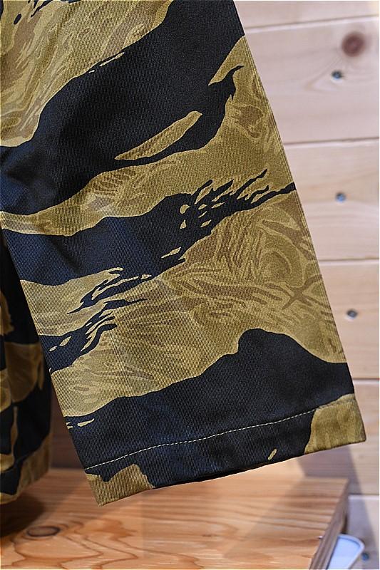 バズリクソンズ ジャケット BUZZ RICKSON'S BR14937 GOLD TIGER STRIPE LATE オリーブ