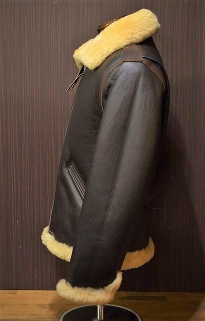 ワイツーレザー シープスキン Y'2 LEATHER B-6 COLOMER MOUTON BRN ムートンジャケット