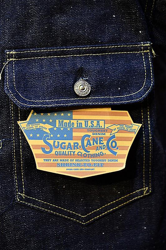 シュガーケーン デニムジャケット Sugar Cane SC11946 us USA 13oz WW?DENIM1946 ネイビー