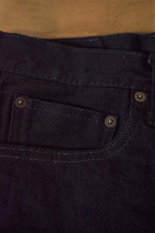 Pure blue japan 1161-2 12oz. Double Indigo Stretch Jeans