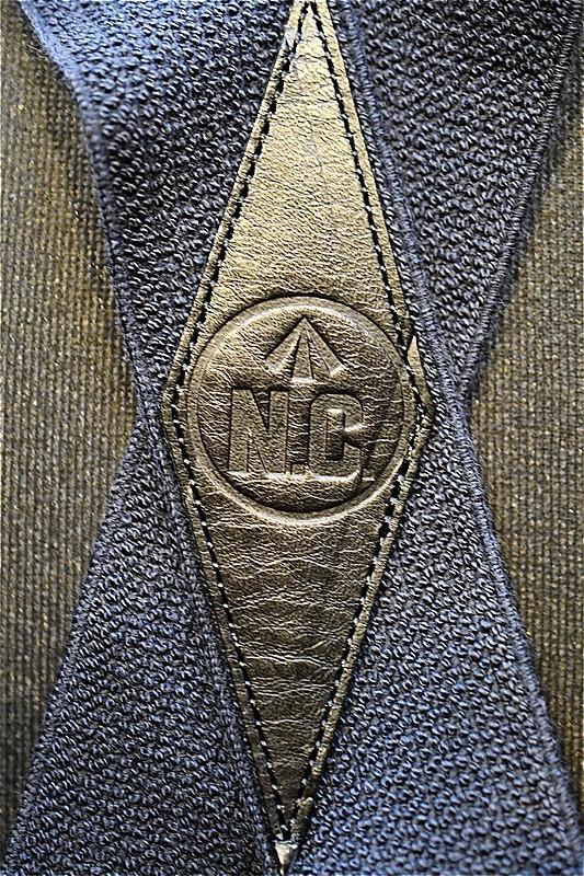 ナイジェル ケーボン サスペンダー Nigel Cabourn 8043-00-64000 US.ARMY SUSPENDER ネイビー