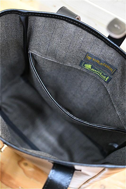 ワイツーレザー Y'2 LEATHER BG-08-S HORSE HIDE TOTE BAG SMALL ブラック