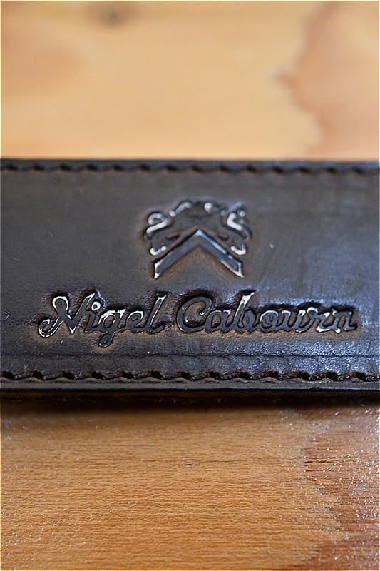 ナイジェル ケーボン キーホルダー Nigel Cabourn 8043-00-68002 キーリング -スイスアーミー  ダークグリーン