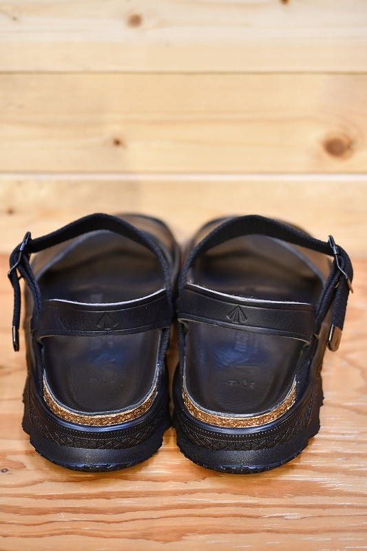 ナイジェルケーボン サンダル Nigel Cabourn 8042-00-62000 50'S フレンチ アーミー サンダル ブラック