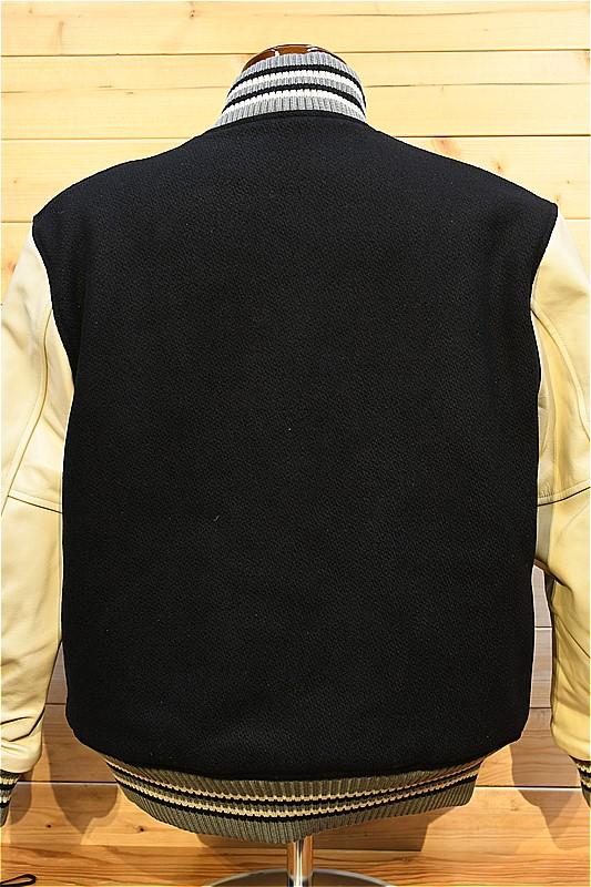 """ホワイツビル アワードジャケット WV14904-119 30oz. WOOL MELTON AWARD JACKET """"SOLID"""" ブラック"""