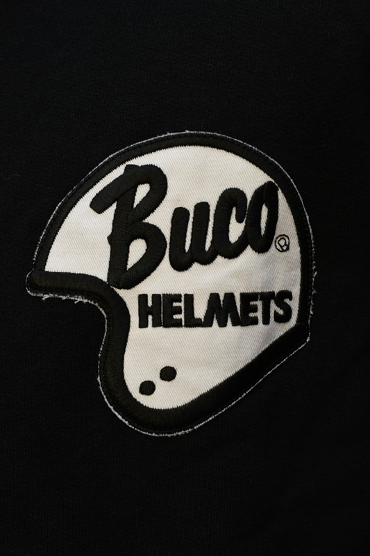 リアルマッコイズ  パーカー REAL McCOYS BC21102 BUCO HELMET LOGO フルジップパーカー