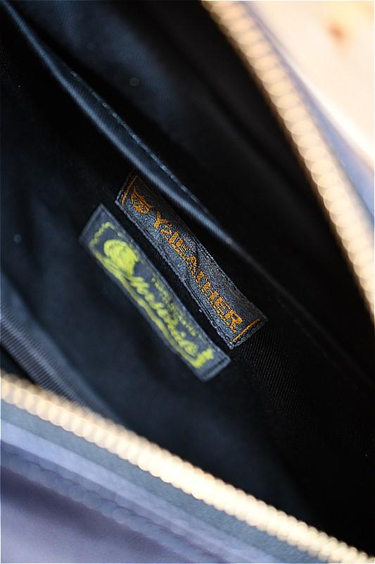 ワイツーレザー バッグ Y'2 LEATHER BG-09 ホースハイド ウエストバッグ インディゴ