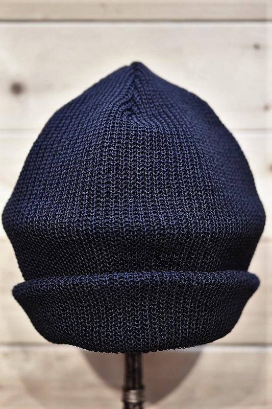 コリンボ ワッチキャップ COLIMBO ZW-0601 ADMIN BOX WATCH CAP NAVY.BLUE