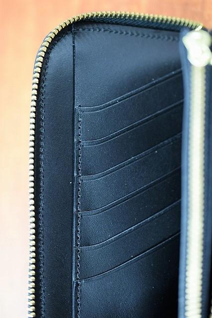 レインボーカントリー RAINBOW COUNTRY RCL60018 ラウンドジップウォレット UKサドルレザー ブラック